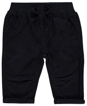 George Black Woven Trousers