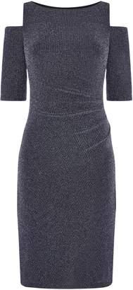 Lauren Ralph Lauren Chevron cold shoulder dress