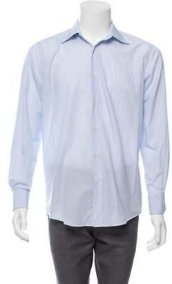 Pal Zileri French Cuff Button-Up Shirt