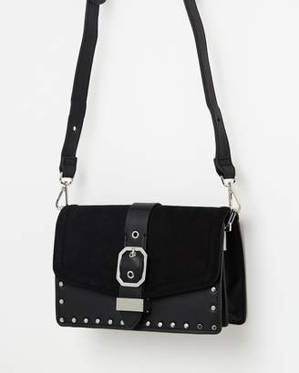 Topshop Megan Buckle Cross-Body Bag