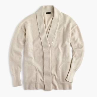 J.Crew Cashmere cardigan sweater with shawl collar