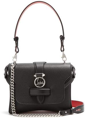 Christian Louboutin Rubylou Small Leather Shoulder Bag - Womens - Black