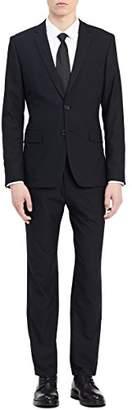 Calvin Klein Men's Infinite Button Notch Fine Cord Stripe Bi-Stretch Jacket