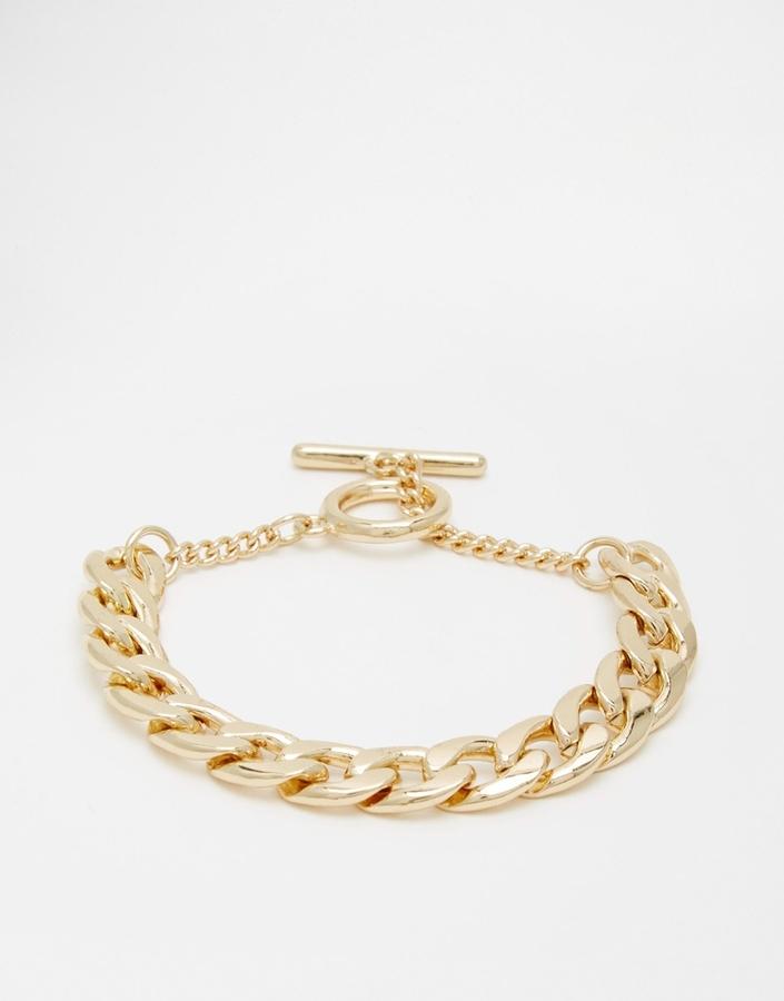 Nylon Galatea Chain Bracelet