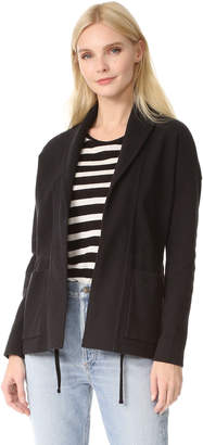 James Perse Shawl Collar Jacket $375 thestylecure.com