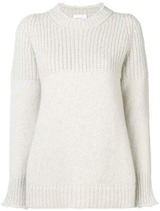 Dondup ribbed neck jumper