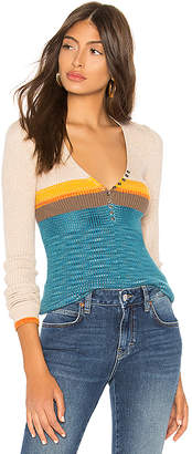 Free People Frequency V Neck Sweater
