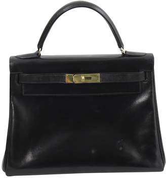 Hermes Kelly 28 leather handbag