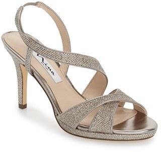 Nina 'Brilyn' Sandal (Women) $78.95 thestylecure.com