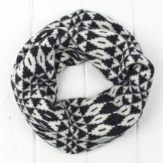 Miss Knit Nat Mirror Knitted Snood/Cowl