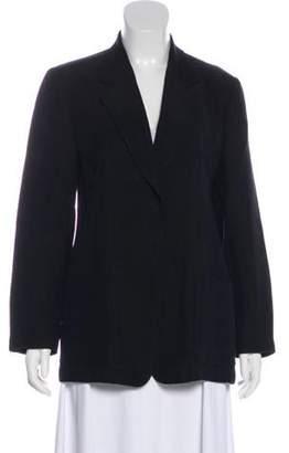Lafayette 148 Linen Long Sleeve Blazer Black 148 Linen Long Sleeve Blazer