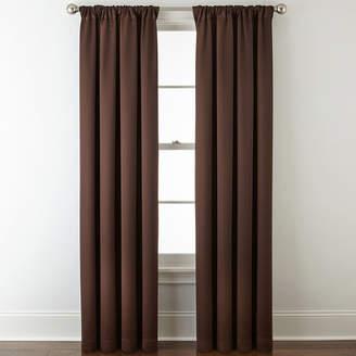 Liz Claiborne Kathryn Rod-Pocket Back-Tab Room Darkening Curtain Panel