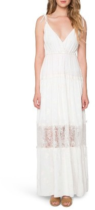 Women's Willow & Clay Lace Maxi Dress $109 thestylecure.com