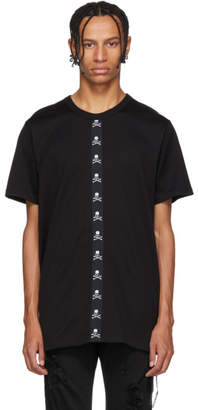 Mastermind World mastermind WORLD Black Skull Tape T-Shirt