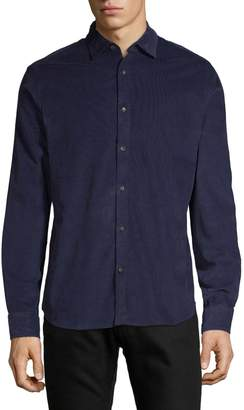 Black Brown 1826 Long-Sleeve Corduroy Shirt