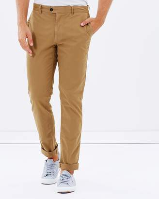 Brooksfield Cotton Stretch Slim-Fit Chinos