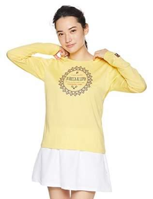Fila (フィラ) - [フィラ テニス] テニス 長袖グラフィックTシャツ 吸水速乾 UVカット VL1918 マリーゴールド 日本 XL (日本サイズXL相当)