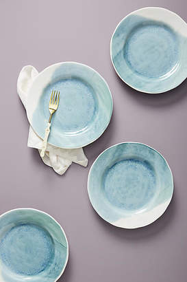 Anthropologie Gather by Cabarita Dinner Plates, Set of 4