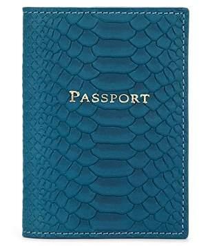 Barneys New York MEN'S PASSPORT CASE - LT. BLUE