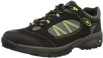 Lico Men's Rancher Low Rise Hiking Boots, Black Green Schwarz/Grau/Gruen