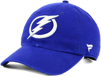 Authentic Nhl Headwear Tampa Bay Lightning Fan Relaxed Adjustable Strapback Cap