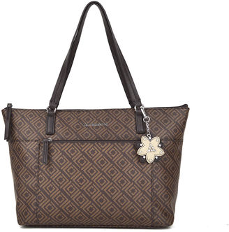 LIZ CLAIBORNE Liz Claiborne Liza Tote Bag $70 thestylecure.com