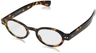 A. J. Morgan A.J. Morgan Unisex-Adult Elroy - Power 53528 Oval Reading Glasses