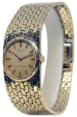 3310J Vintage 18K Yellow Gold Windup Womens Watch