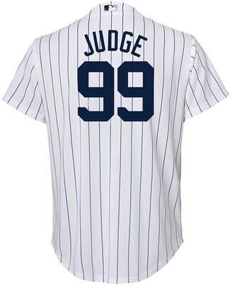 Majestic Aaron Judge New York Yankees Player Replica Cb Jersey, Big Boys (8-20)