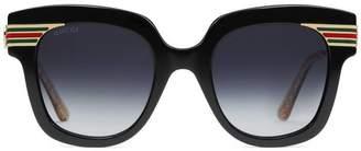 Gucci Square-frame acetate sunglasses