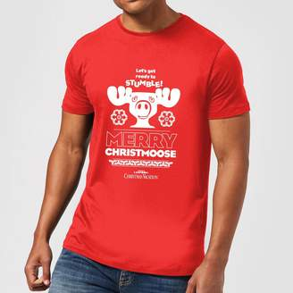 National Lampoon Merry Christmoose Men's Christmas T-Shirt