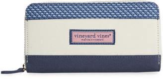 Vineyard Vines Vineyard Whale Heritage Zip Around Continental Wallet