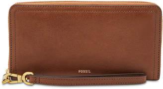 Fossil Logan Zip Around Wallet