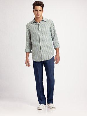 Saks Fifth Avenue Linen Pants