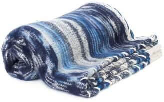 The Elder Statesman pattern knit scarf