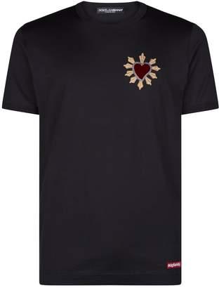 Dolce & Gabbana Heart Patch T-Shirt