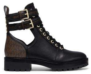 MICHAEL Michael Kors Benson Cutout Leather Boots