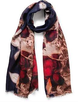 The Two Mrs Grenvilles Rose Scarf