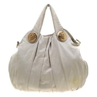Gucci Hysteria White Leather Handbags