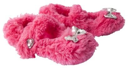 Girls' Slipper Sock - Bright Pink