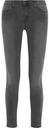 J Brand 620 Photo Ready Super Skinny Mid-rise Jeans - Anthracite