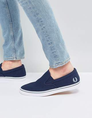 Fred Perry Underspin Slipon Canvas Sneakers