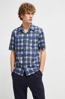 French Connenction Chabrol Painted Check Shirt