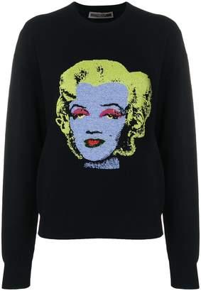 Versace Marylin Monroe print sweatshirt