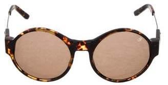 Proenza Schouler Tortoiseshell Acetate Sunglasses