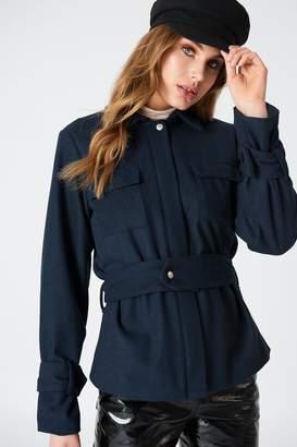 NA-KD Na Kd Belted Short Coat