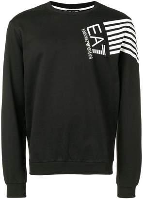 Emporio Armani Ea7 print sweatshirt