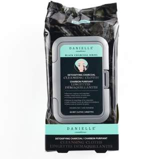 Danielle Creations Detoxifying Charcoal Cleansing Cloths