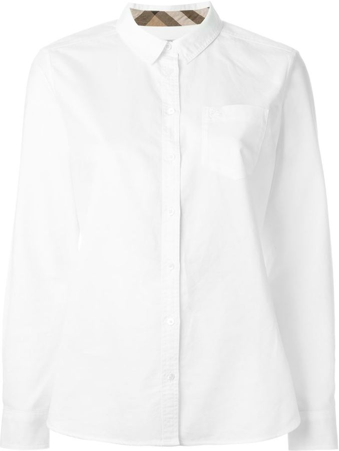 Burberry Burberry chest pocket shirt