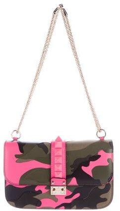 ValentinoValentino 2015 Psychedelic Camo Medium Glam Lock Bag